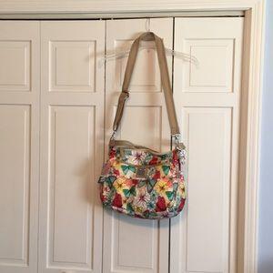 Butterfly motif purse